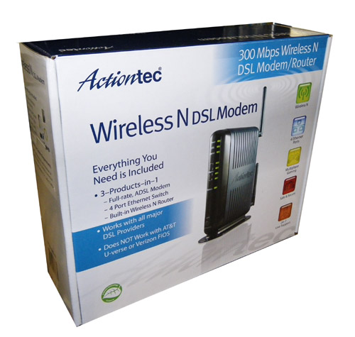 Actiontec Gt784wn Dsl Modem Gateway Approved Modems