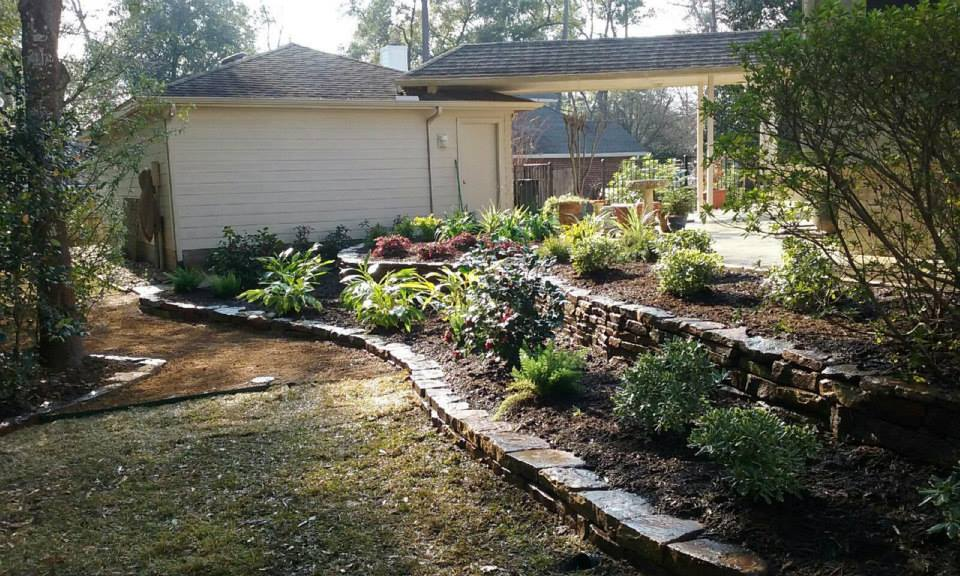 Plant and level seperation - Landscaping Services Decorative Rocks Houston, Spring, Kingwood