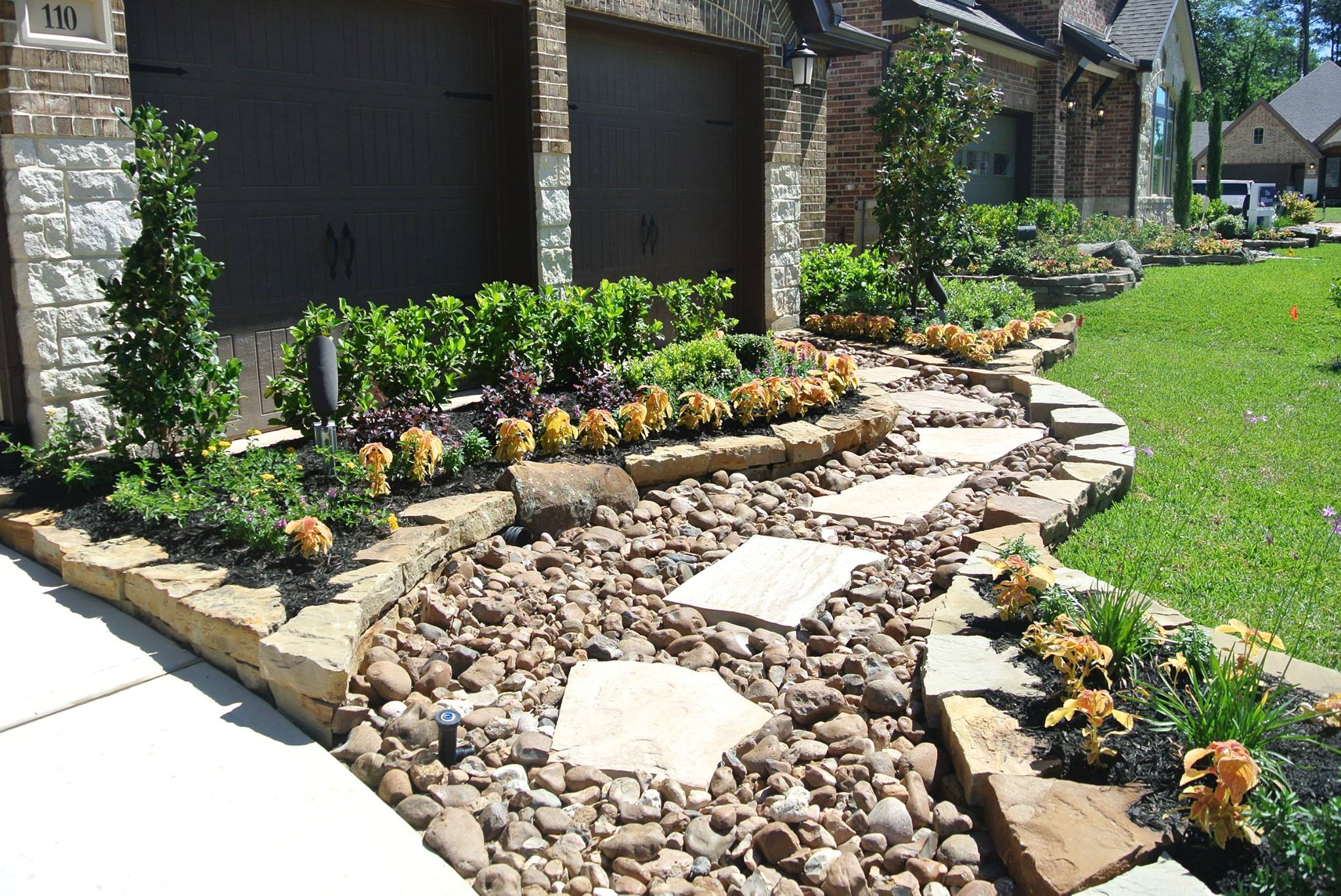 Landscaping Services Decorative Rocks Houston Spring