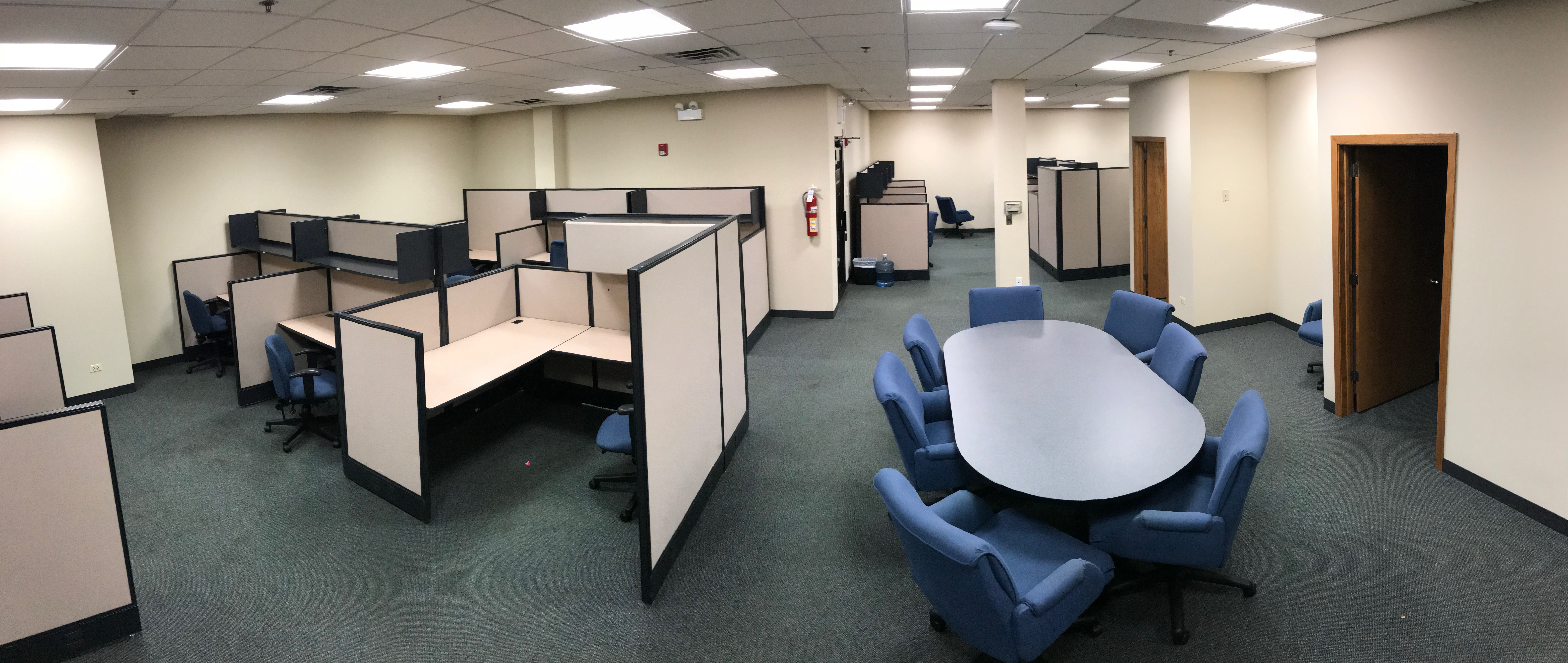 large office space. Large Office Space With Board Meeting Table